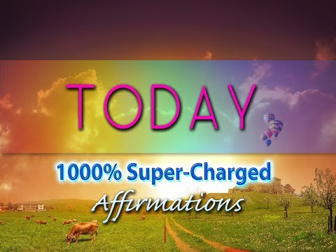 TODAY - Set Your Day For Magic - Super​-​Charged Affirmations