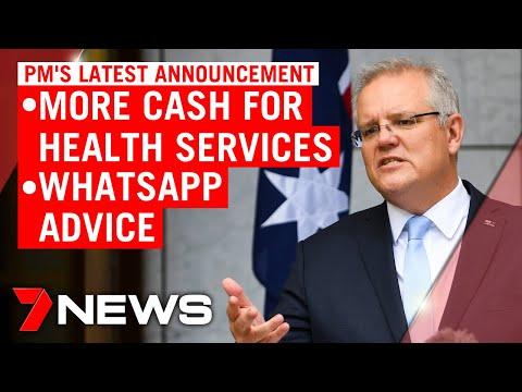 Coronavirus: PM Announces $1 Billion In New Health Care Funding | 7NEWS