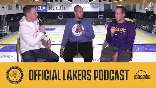Official Lakers Podcast: sit down with the Coach of the Month, Frank Vogel, for an extended chat