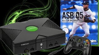 OG Xbox - All-Star Baseball 2005 (The one to watch)