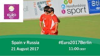 Spain vs russia | ibsa blind football european championships