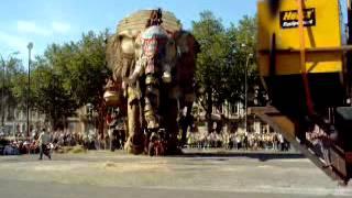 royal de luxe éléphant amiens 2005