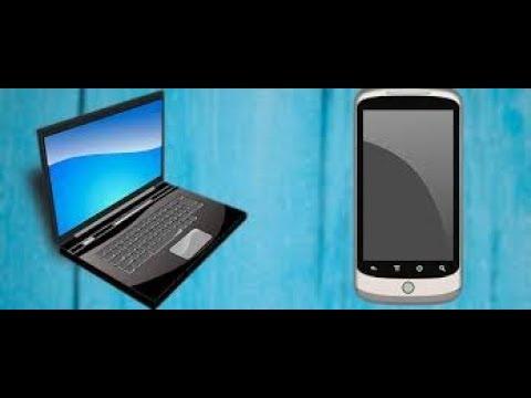 как перекинуть видео с ноутбука на телефон?