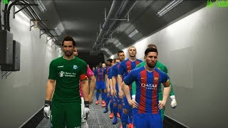 PES 2017 | Barcelona fc vs Deportivo Alaves | Final | Full Match | Gameplay PC