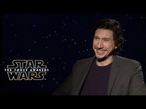 Adam Driver - Star Wars: The Force Awakens Interview (HD)