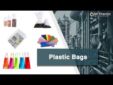 Plastic Bag Manufacturers Suppliers   IQS Directory