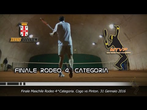 ASD Tennis Patavium. Finale Torneo Rodeo 4^ Categoria