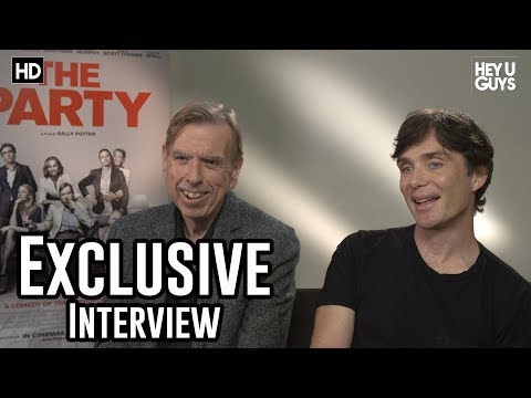 Cillian Murphy & Timothy Spall  The Party Exclusive