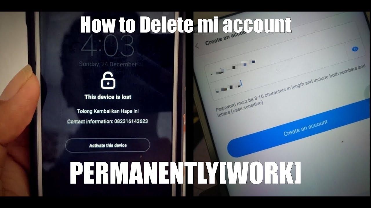 How to Delete mi account permanently[WORK]