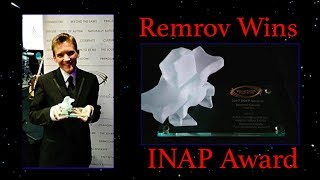 Autistic Artist Remrov Wins International INAP Award