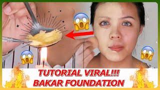 Cover images Tutorial VIRAL!! Foundation Bakar | Makeup ANTI BADAI!!!