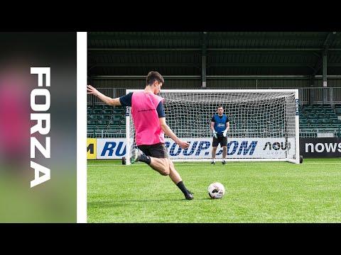 Introducing: 16 X 7 FORZA Alu110 Stadium Box Goal | Net World Sports