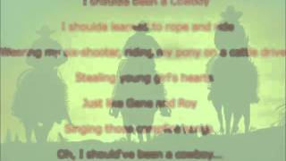 Toby Keith - Should've Been a Cowboy (LYRICS)