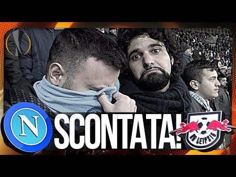 Napoli 1-3 rb leipzig | scontata... live reaction curva b hd