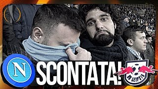 NAPOLI 1-3 RB LEIPZIG | SCONTATA... LIVE REACTION CURVA B HD