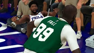 NBA 2K20 Tacko Fall My Career - This Poster Made Embiid Fall!