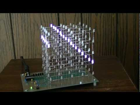 Construction of a 5x5x5 LED Cube