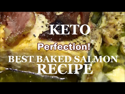 BEST SALMON RECIPE EVER! - Ketogenic KETO Diet - Kevin Hunter