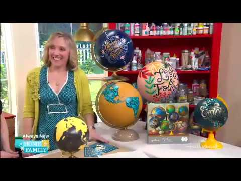 DIY Globe Painting - Laura Elsenraat