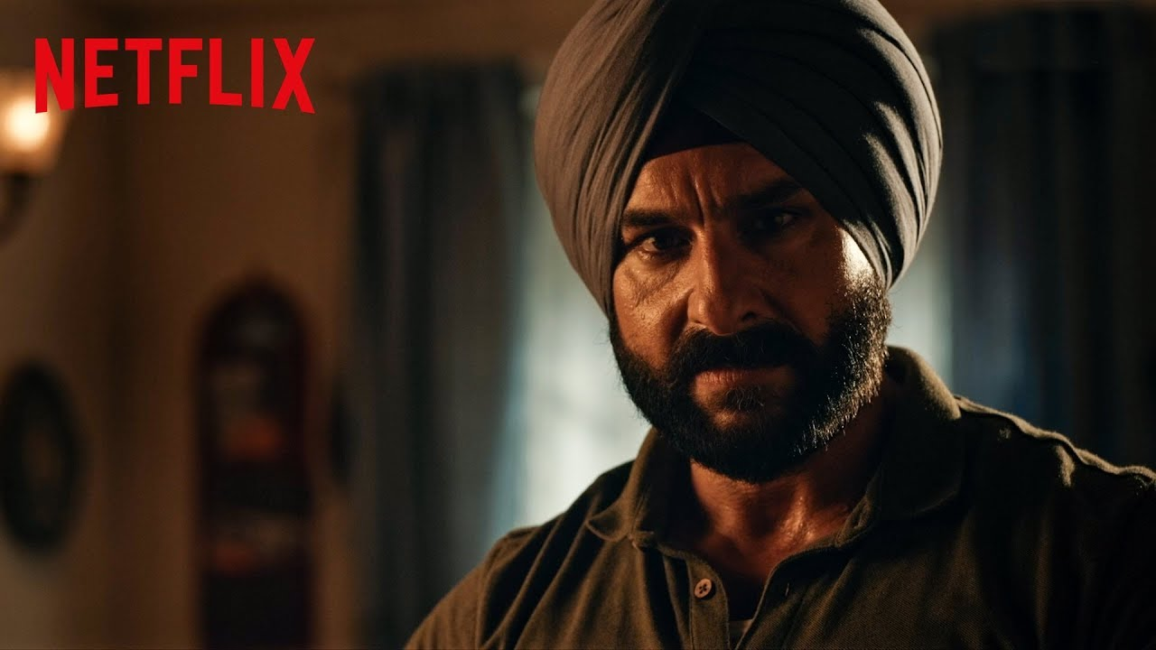 Sacred Games 2 promo sees Saif Ali Khan's Sartaj Singh