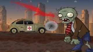 Машины против зомби игра как мультик для детей   Зомби машины игровой мультик часть 3