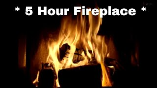 5 Hour Fireplace Video in Full HD - Filmed in 4K Ultra HD 🔥