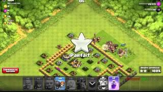 Mon frère attaque sur clash of clans #2 défi 90000