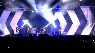 The Strokes Covering The Cars Just What I Needed Live at Reading Festival with Jarvis Cocker.avi