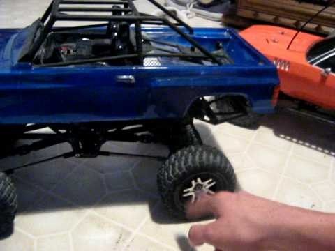 rc crawler exceed mad crawler hpi wheely king axial scx10 aka redneck cuda tamiya tlt based crawler