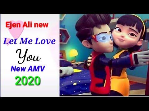 Ejen Ali new AMV 2020, Justin Bieber song (let me love you)