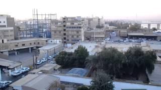 イラン南西部の都市 アフヴァーズの朝 Ahwaz City, Iran, morning