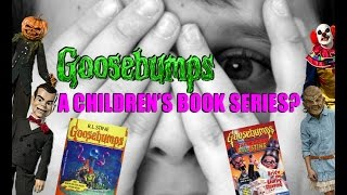 Is Goosebumps Really A Children's Book Series?