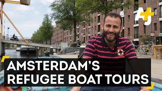 This Refugee Boat Now Tours Amsterdam's Canals
