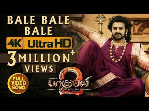 Bale Bale Bale Full Video Song || Baahubali 2 Video Songs Tamil | Prabhas, Anushka Shetty, Rana