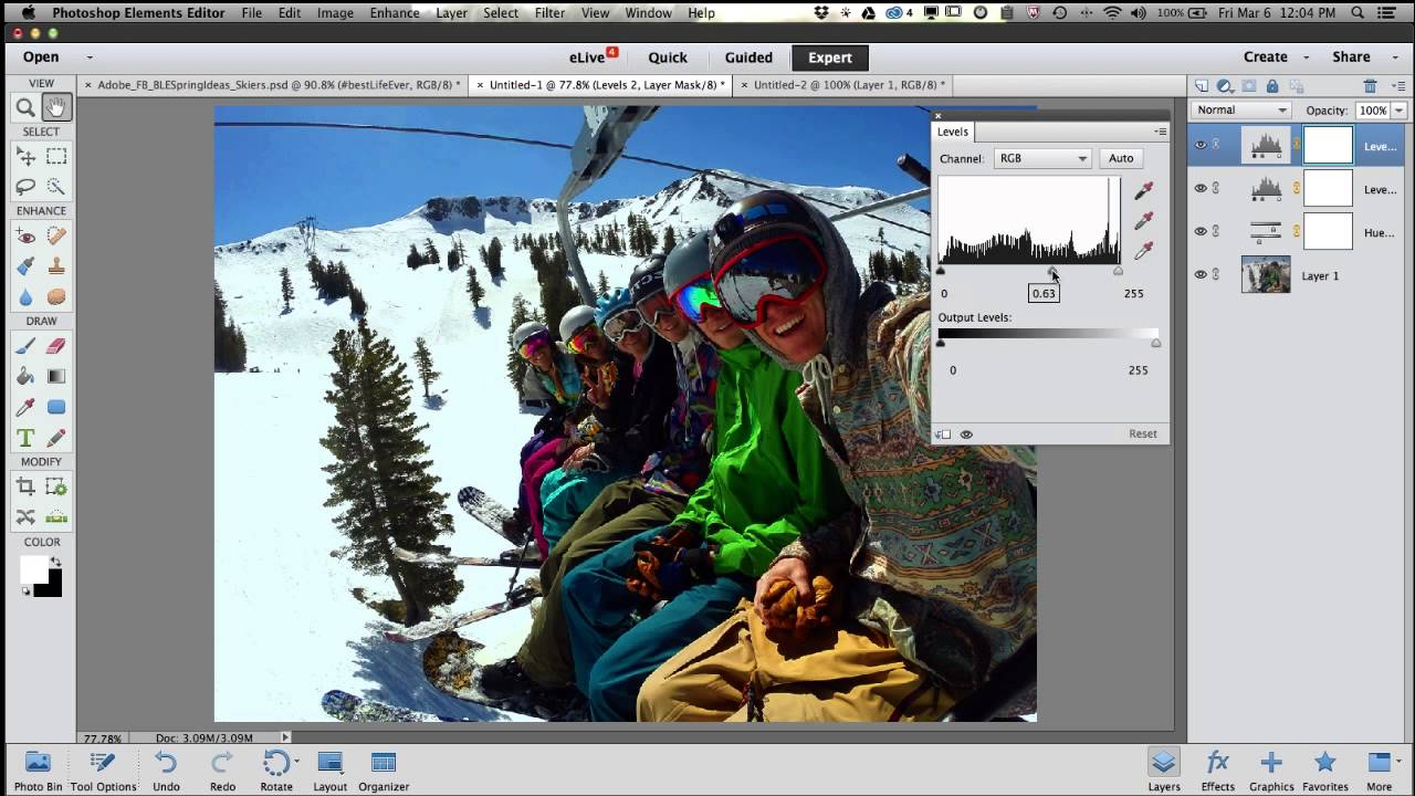 How to fix color cast in photoshop elements - How To Fix Color Cast In Photoshop Elements 3