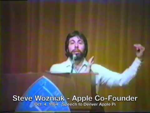 1984: Steve Wozniak on Paper Tapes For Progamming