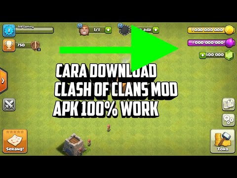 Cara Download COC/Clash Of Clans Mod Apk 100% Work (Check Description)