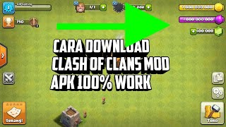 Gambar cover Cara Download COC/Clash Of Clans Mod apk 100% Work (Check Description)