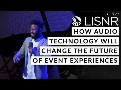 CEO of LISNR on How Audio Technology will Change the Future of Event Experiences