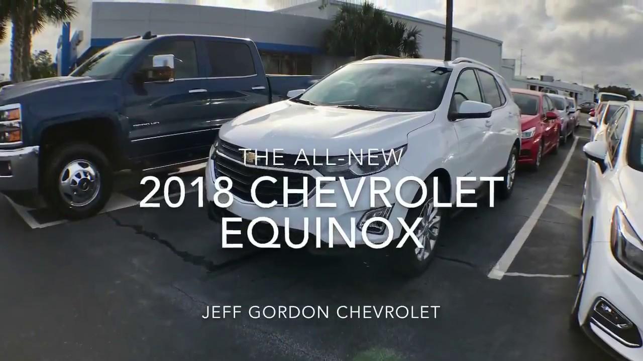 The Next Gen 2018 Chevrolet Equinox Quick Look Jeff Gordon Chevrolet Wilmington Nc