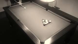 12ème cassé fermé(billard anglais 8 pool blackball)