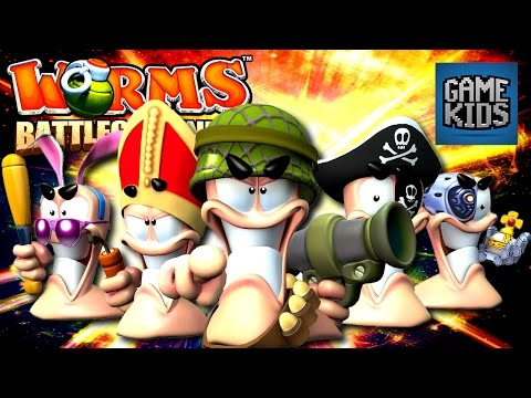 Worms Battlegrounds - Pokemon Vs Cows - Bro Gaming