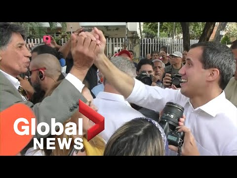 Venezuela's Guaido calls for more protests against Maduro after failed attempt to take over congress