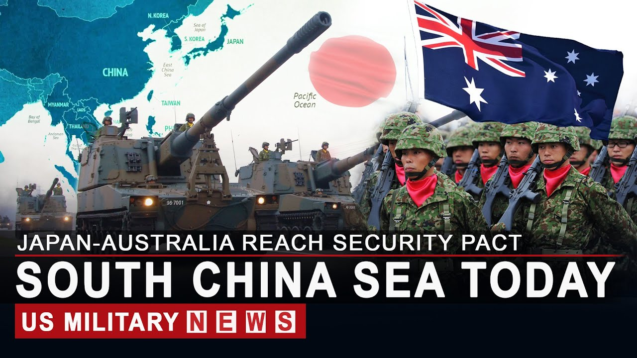 Japan, Australia reach security pact amid fears over South China Sea row