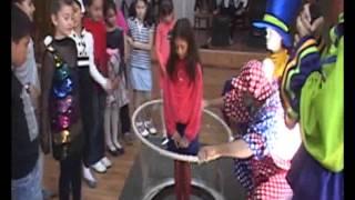 Шоу Гигантских мыльных пузырей в Ташкенте