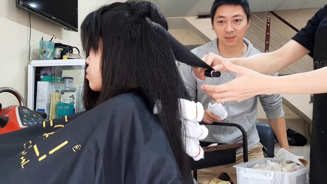 HƯỚNG DẪN UỐN TÓC NÓNG| UỐN SETTING CHO GÁI XINH TRẺ ĐẸP | Tổng hợp kiến thức về tóc đẹp mới nhất