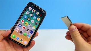 EXPERIMENT - Was wenn ein Magnet mit dem Smartphone und einer Speicherkarte in Berührung kommt?