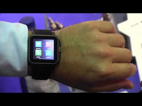 Pearl Simvalley AW-414.Go Smartwatch mit Phone-Funktion Hands On (Deutsch - German)