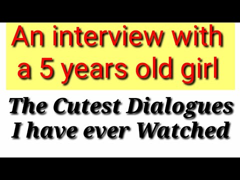 A dialogue between an interviewer and a student about his ...