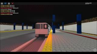 (ROBLOX) MTA IRT Subway Special: R62A Shuttle Train NIS with a NIS R33 Train Bypasses 14 Street